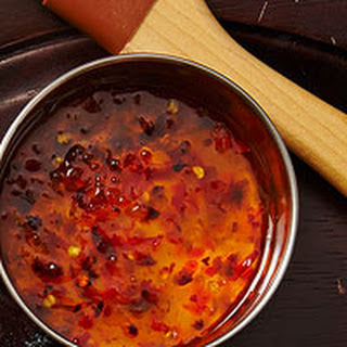 Hot Pepper Jelly Sauce.