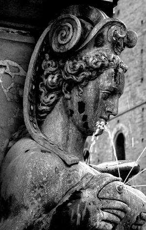 particolare fontana di Nettuno Bologna di ziopatri