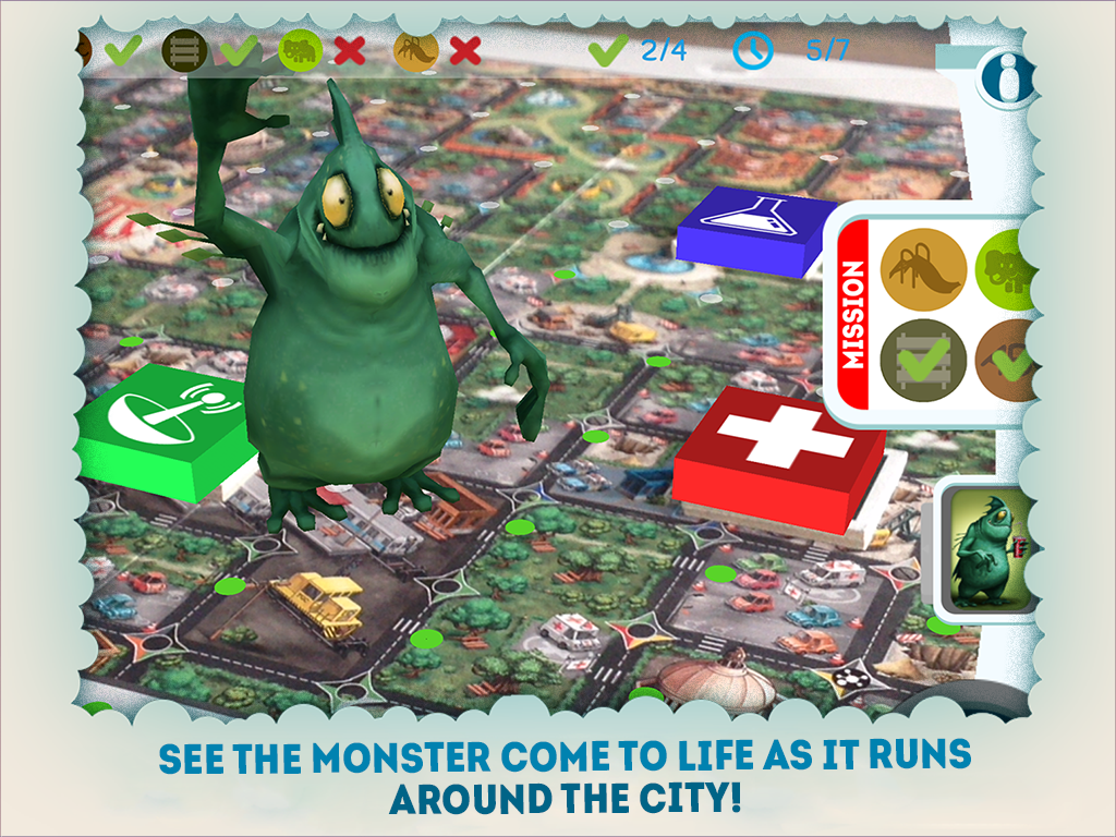 Roar! AR Boardgame hybrid game- screenshot