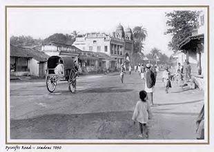 Photo: Pycrofts raod - Triplicane - Madras