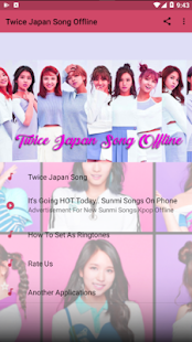 Twice Japan Song Offline Screenshot