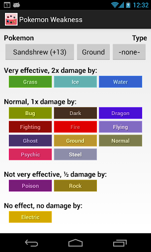 Weakness Check for Pokemon screenshot 4