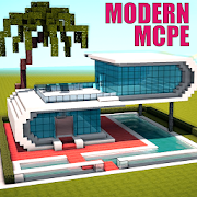 Modern Houses and Furniture for MCPE