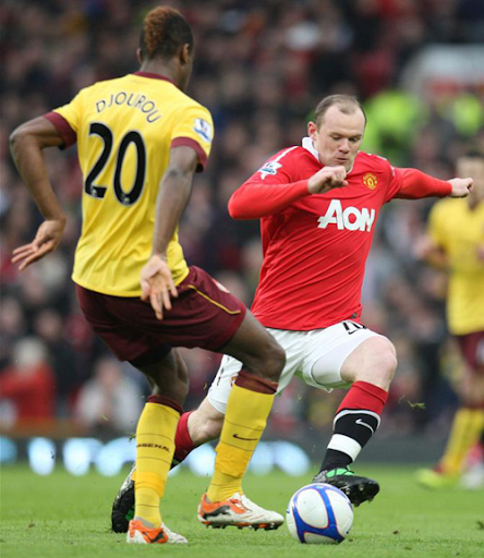 Rooney, Manchester United - Arsenal