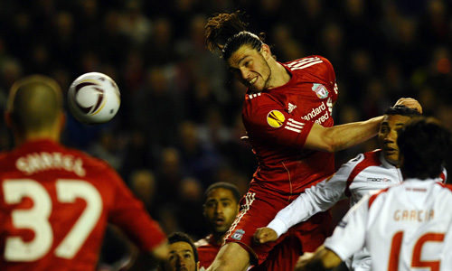 Carroll, Liverpool - Sporting Braga