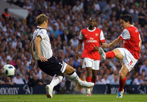 Samir Nasri, Tottenham - Arsenal