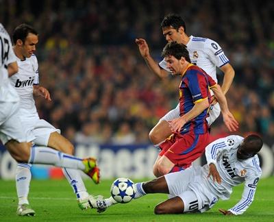 Messi, Barcelona - Real Madrid