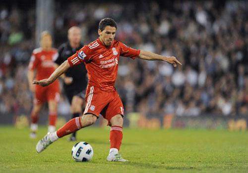 Maxi Rodriguezl, Fulham - Liverpool