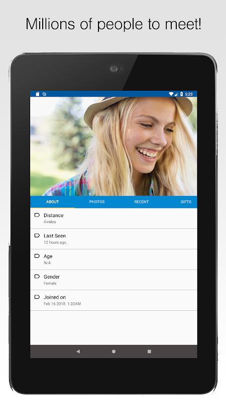 Nearby - Chat, Meet, Friend screenshots