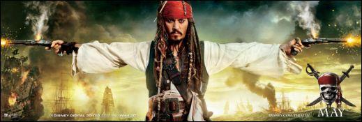 PIRATES OF THE CARRIBBEAN: ON STRANGER TIDES Johnny Depp Captain jack Sparrow