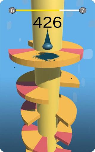 Spiral Balls Love Jump  captures d'écran 5