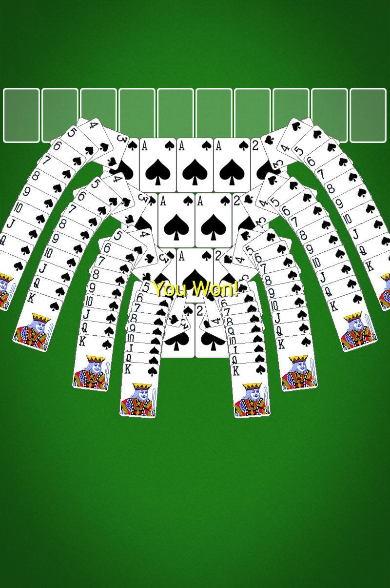 Spider Solitaire screenshot #14
