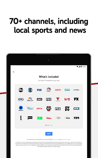YouTube TV screenshot 7