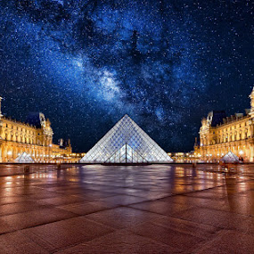 Louvre by Sebastien Gaborit - City,  Street & Park  Vistas