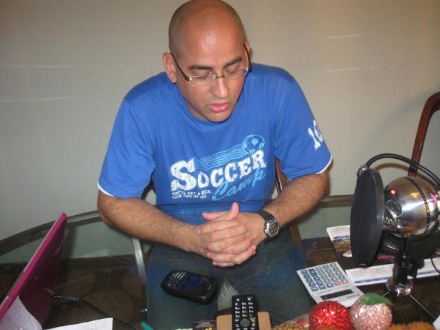 David García haciendo streaming