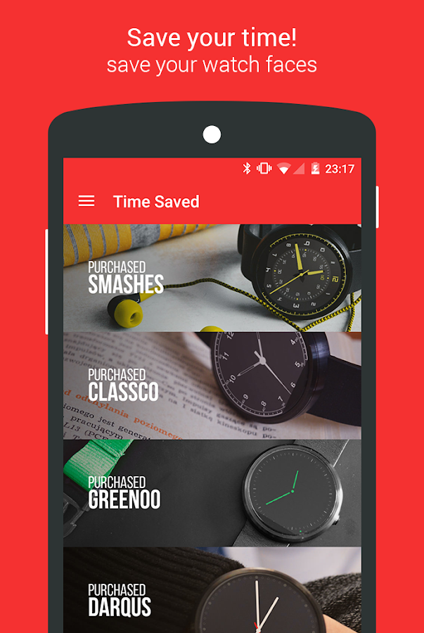 Time Store Premium Watch Faces- screenshot