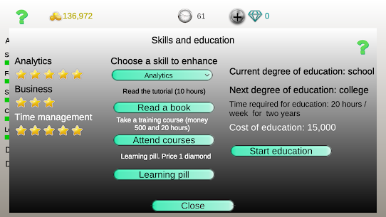 Business strategy 2 3.1 Mod (Unlimited Money) 3