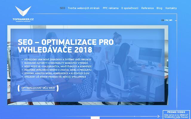 Topranker.cz - продвижение сайтов в Праге