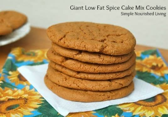 Low Fat Cake Mix Recipes: 10 Best Cake Mix Cookies No Eggs Recipes