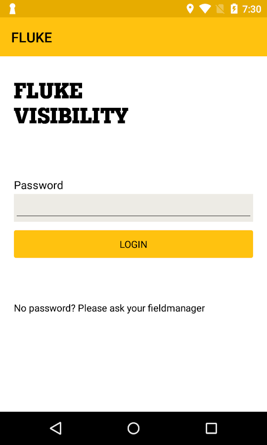 Fluke Visibility- screenshot