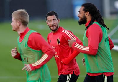 Eden Hazard pourrait finalement rejoindre les Diables dans quelques jours