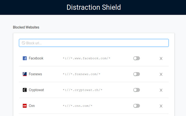 The Distraction Shield