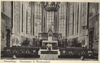 Photo: 1960 Priesterkoor van  St. Martinuskerk