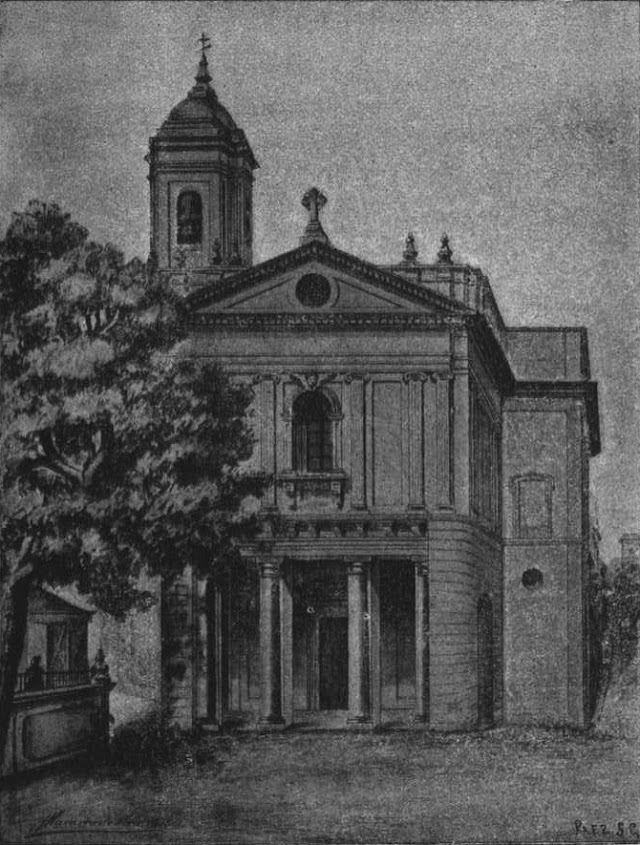 Fachada de San Pedro.