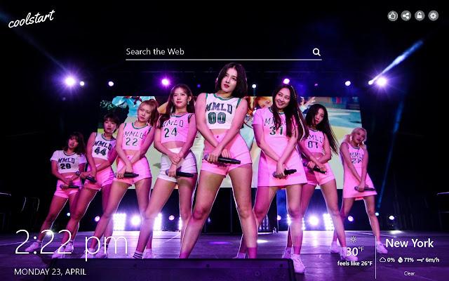 Momoland HD Wallpaper К-Pop Music Theme