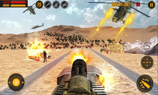 Island Train Shooter 3D