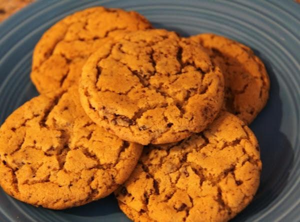 Chocolate Flecked Peanut Butter Cookies Recipe