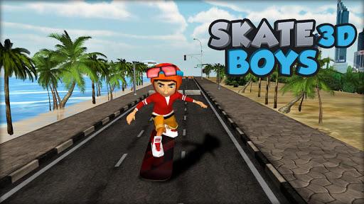 滑板男孩3D
