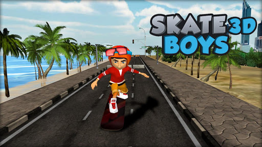 Skate 3D Boy