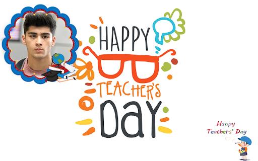 Happy Teachers Day Wish Photo Frame Maker 1.1 screenshots 3