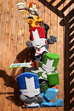 Photo: XBL Game of the Year, Castle Crashers...Check out http://www.nicecarvings.com