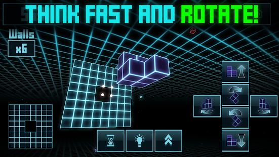 Kyoobix - 3D Cube Grid Arcade - náhled