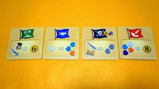 アレス・アン・ボード?!:海賊船カード