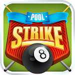 Pool Strike Online 8 ball pool billiards with Chat icon