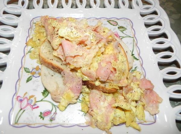 Ham Chip Scramble Recipe