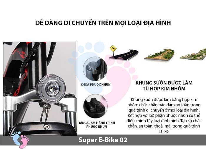 Xe đạp điện địa hình Super E-Bike 02 7