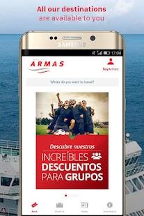 NAVIERA ARMAS: ferries - náhled