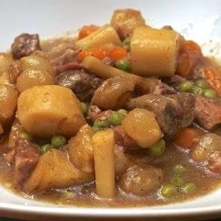 Crock Pot Lamb Stew.