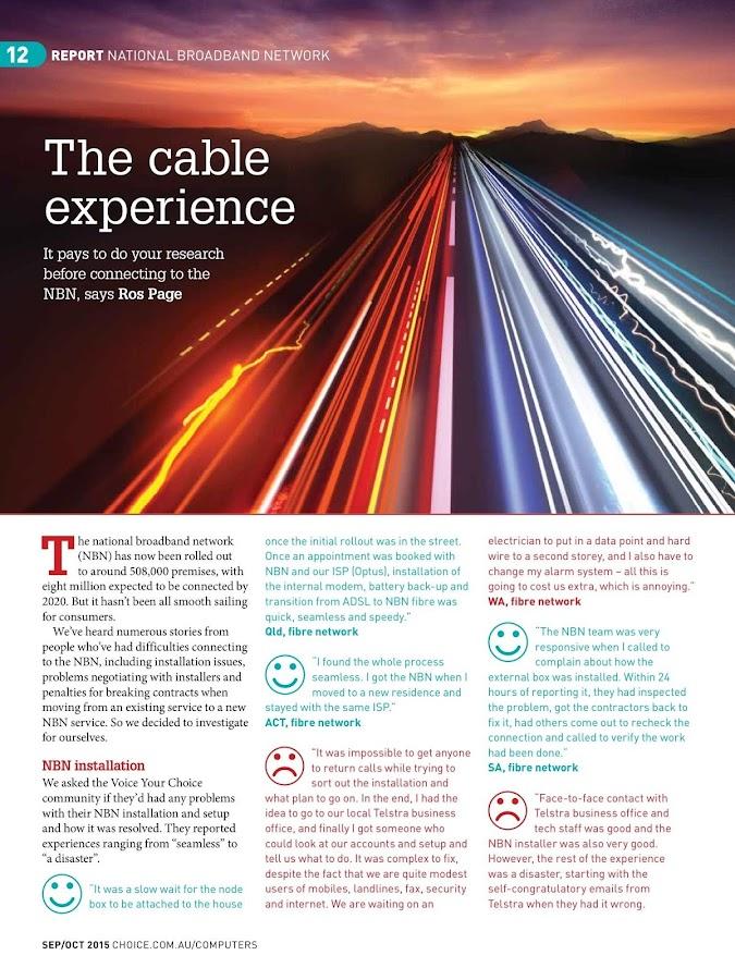 CHOICE Computer Magazine- screenshot
