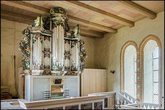 Photo: Der Erbauer dieser prachtvollen Orgel in Cammin bei Rostock war Hans Hantelmann (* 1665 in Celle bei Hannover + 1735 in Lübeck), der bei Arp Snitger in Hamburg sein Handwerk lernte.