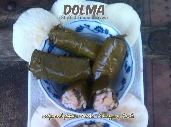 Dolma (stuffed Grape Leaves)