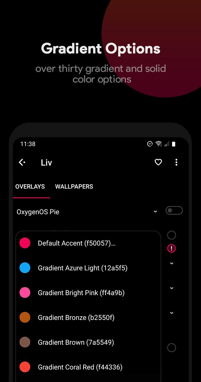 Liv Dark - Substratum Theme Screenshot 7