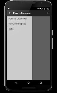 Crossover Calculator- screenshot thumbnail