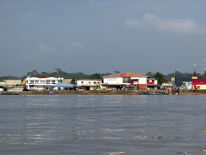 Photo: Maroni River and Albina border town