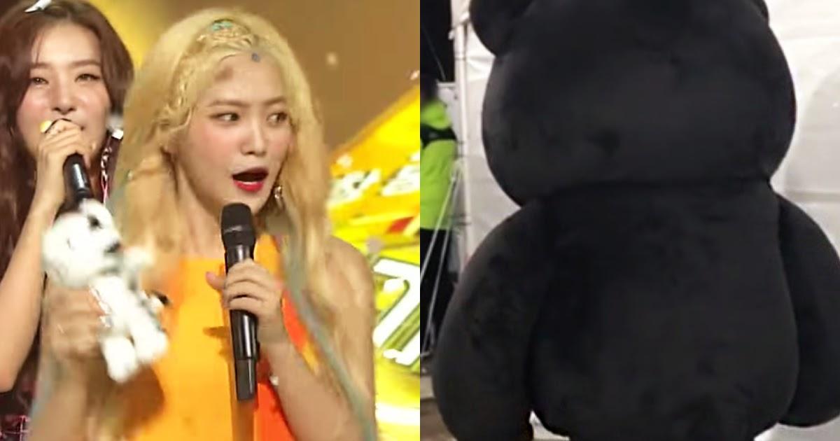 Red Velvet Yeri Terrified By Big Dark Figure On Stage   Runs Away