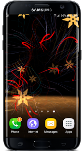 3D Abstract Particles Live Wallpaper Screenshot
